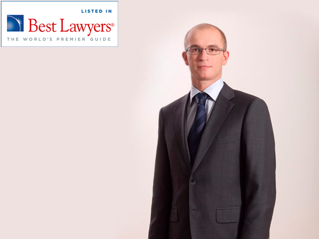 Maxim Labzin Named among Best Lawyers