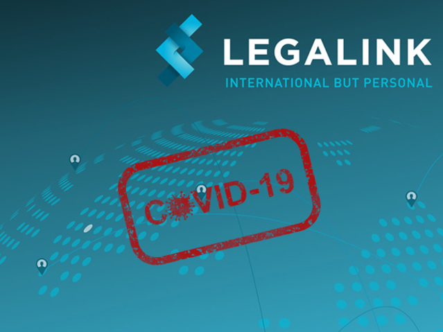 Legalink exchanged information on COVID-19