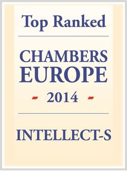 INTELLECT-S - Top Ranked Law firm in Russia by Chambers Europe